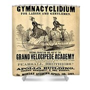 The First Gymnacyclidium Shower Curtain