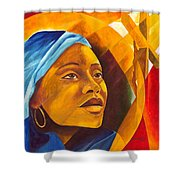 The First Mother Shower Curtain