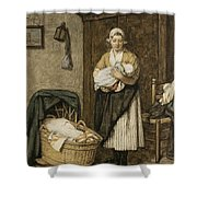 The Firstborn, 1875 Shower Curtain