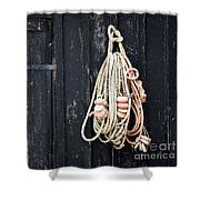 The Fisherman's House Shower Curtain