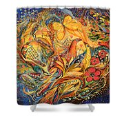 The Fishermen Village Shower Curtain