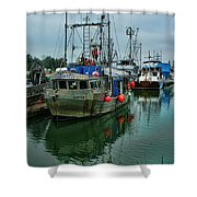 The Fishing Boat Genesta Hdrbt4240-13 Shower Curtain