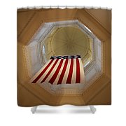 The Flag - Maryland State House Shower Curtain