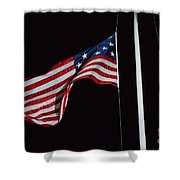 The Flag Of 1801 Shower Curtain