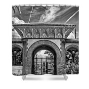 The Flagler College Entrance  Shower Curtain