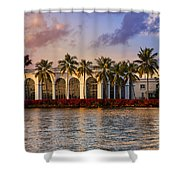 The Flagler Museum Shower Curtain