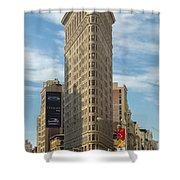 The Flatiron Building Shower Curtain