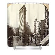 The Flatiron Building In Ny Shower Curtain