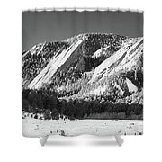 The Flatirons Shower Curtain