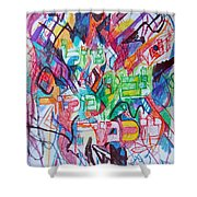 The Flowing River The Source Of Wisdom 1 Shower Curtain