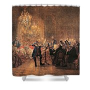 The Flute Concert Shower Curtain