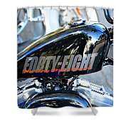 The Flying Forty Eight Shower Curtain