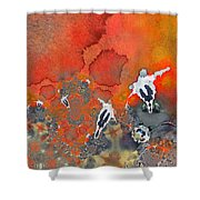 The Football Game Shower Curtain
