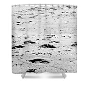 The Footprints At Wineglass Shower Curtain
