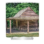 The Forge Shower Curtain by Rob Sellers