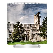 The Forgotten Abbey 2 Shower Curtain