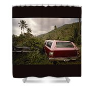 The Forsaken Cars Shower Curtain
