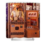 The Fortune Teller And Friend Shower Curtain