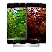 The Four Seasons- Featured In Comfortable Art And Newbies Groups Shower Curtain