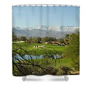 The Foursome Shower Curtain