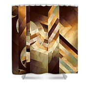 The Framed Dream Shower Curtain