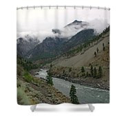 The Fraser River Shower Curtain