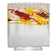 The Free Spirit 5 Shower Curtain