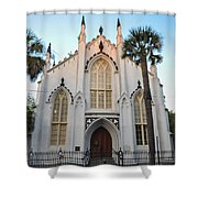 Charleston French Huguenot Church Shower Curtain