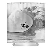 The Frogman Shower Curtain