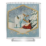 The Frost King Shower Curtain
