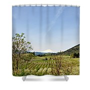 The Fruits Of  Mount Hood Shower Curtain