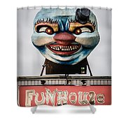 The Funhouse Shower Curtain