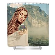 The Future Foretold Shower Curtain
