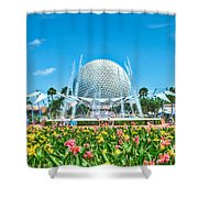 The Future Shower Curtain