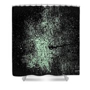 The Galaxy B W  Shower Curtain