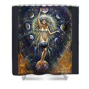 The Galaxy Creation Shower Curtain