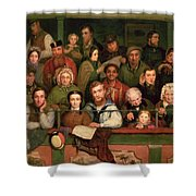 The Gallery, Drury Lane Shower Curtain