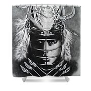 The Game Of Lacrosse  Shower Curtain