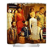 The Gap Crowd Shower Curtain