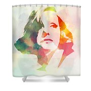 The Garbo 2 Shower Curtain