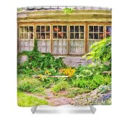 The Garden At Juniata Crossings Shower Curtain