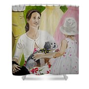 The Garden Party Shower Curtain