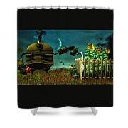 The Gardener Shower Curtain