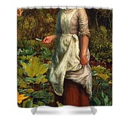 The Gardeners Daughter Shower Curtain