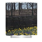 The Gardens At Biltmore Estate IIi Shower Curtain