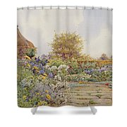 The Gardens At Chequers Court Shower Curtain
