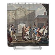 The Gate Of Calais, Or O The Roast Beef Shower Curtain