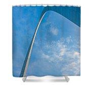 The Gateway Arch Shower Curtain