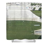 The Gateway Arch St Louis Shower Curtain