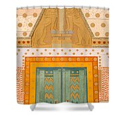 The Gateway Of Troy Shower Curtain